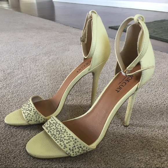 Pale Yellow Heels